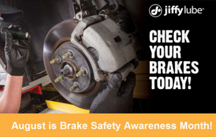 August is Brake Safety Awareness Month